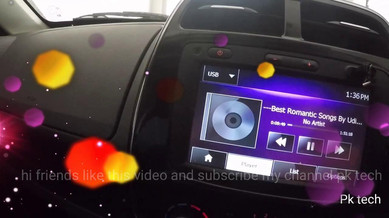 Renault kwid music system media navigation system in hindi