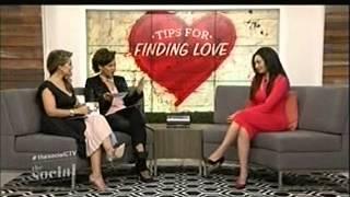 Toronto Matchmaker Natacha Noël of Absolute Bachelor Club interviewed on The Social