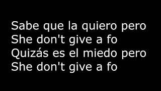 Duki - She Don't Give a FO (LETRA)
