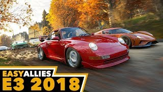 Forza Horizon 4 - 4K Gameplay, Full Demo - Easy Allies E3 2018