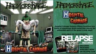 "HAEMORRHAGE – ""Flesh-Devouring Pandemia"""