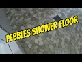 PEBBLES RIVER ROCK TILE IN WALK-IN SHOWER FLOOR PREVIEW