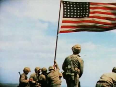 Raising the Flag on Iwo Jima (February 23, 1945)