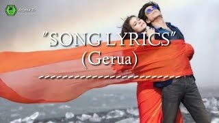 Arijit singh & Antara mitra song lyrics Gerua