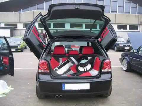 vw polo 9n3 tuning una storia un mito youtube. Black Bedroom Furniture Sets. Home Design Ideas