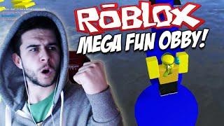 ★ROBLOX MEGA FUN OBBY!! - PRO PARKOUR SKILLS - Level 1-50 Part (1) ★