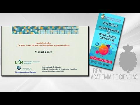 Manuel Yáñez Montero, 20 de febrero de 2020.3ª conferencia delXVI CICLO DE CONFERENCIAS DE DIVULGACIÓN CIENTÍFICA.CIENCA PARA TODOS 2020▶ Suscríbete a nuestro canal de YouTubeRAC: https://www.youtube.com/RealAcademiadeCienciasExactasFísicasNaturales
