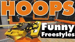 Rocket League | Hoops | Funny Freestyles!