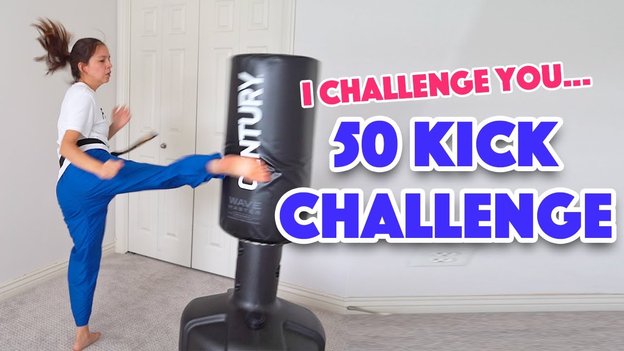 The 50 Kick Challenge (I Challenge You!)
