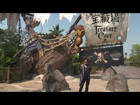 Pirates of the Caribbean: Dead Men Tell No Tales: Treasure Cove Celebrity Pictures