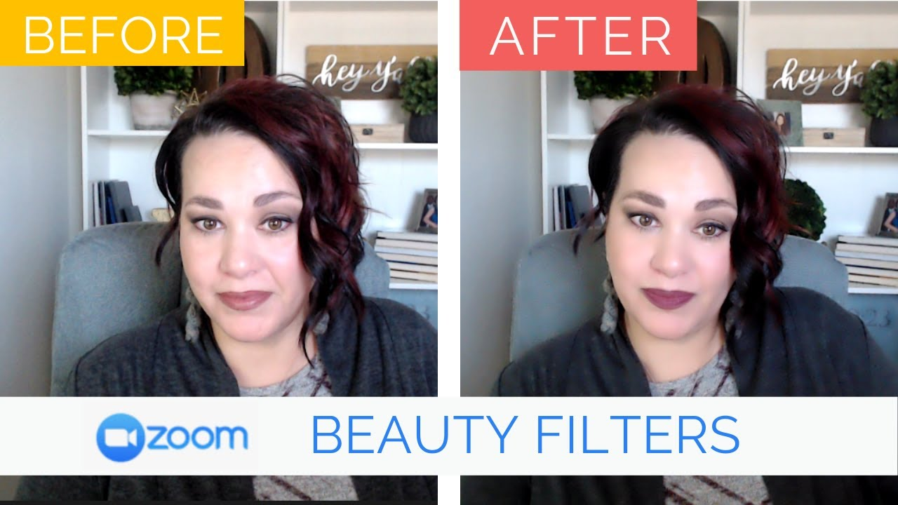 How to look good on Zoom | Beauty filters and makeup for Zoom meetings