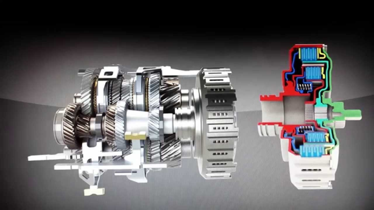 dual clutch transmission Dual clutch transmission is a motorcycle transmission that automates clutch and shift operation while retaining the essential structure and direct acceleration feel of a manual transmission since clutch operation is not required, the rider is free to focus on operating the throttle and brakes .