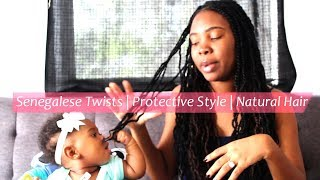 Senegalese Twists | Protective Style | Natural Hair