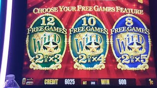 Gold Bonanza Bonus BIG WIN ! Konami Slots Bonuses ,Ultimate Fire Link🔴LIVE STREAM FROM MORONGO