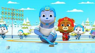 Jääkiekko  Sarjakuvat lapsille  hauskoja sarjakuvia  Hauskoja videoita  Loco Nuts   ce Hockey