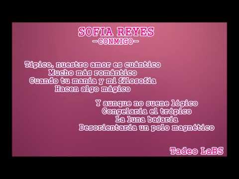 Sofia Reyes-Conmigo/the rest of my life [HD] Letra