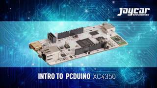 Intro to PCDuino XC4350 - Jaycar Electronics