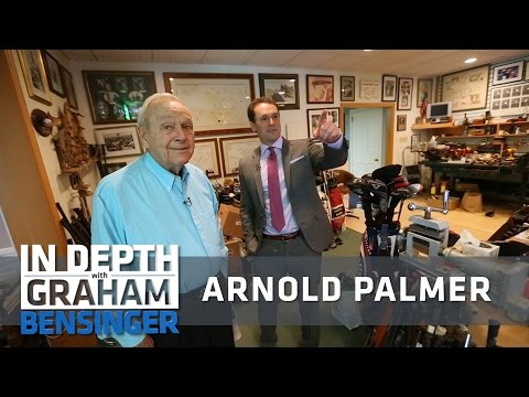 Arnold Palmer keeps his drink recipe secret