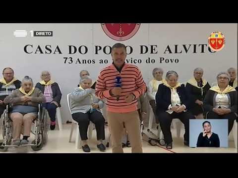 RTP Praça da Alegria na Casa do Povo de Alvito