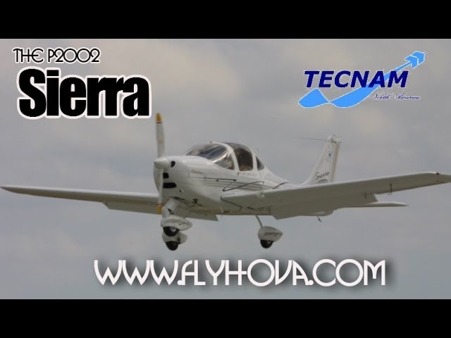 P2002 Sierra, light sport aircraft from Tecnam Aircraft.