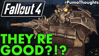 Fallout 4: Is the Enclave Good for the Wasteland? Or Just Evil and Bad? (Enclave Lore) #PumaThoughts
