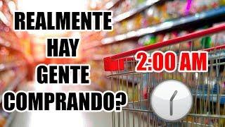 SUPERMERCADO ABIERTO LAS 24 HORAS ¿REAL? 🏪