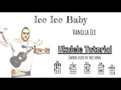 Ice Ice Baby ukulele tutorial - YouTube