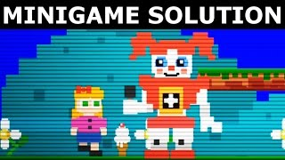 FNAF Sister Location - Secret Circus Baby Minigame Solution (How To Complete Mini Game) Easter Egg