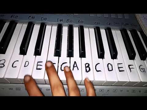 Badshah - Aashiq Awaara   Sunidhi Chauhan   ONE Album Easy Piano Tutorial