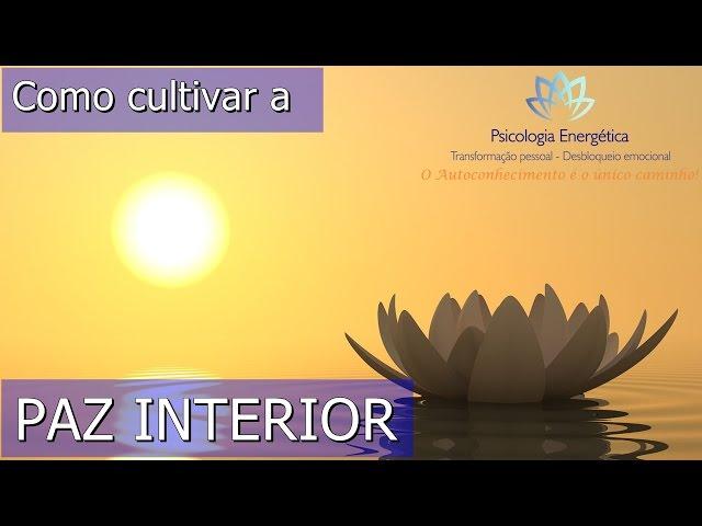 Como construir a paz interior? | Rafael Zen | EFTBrasil