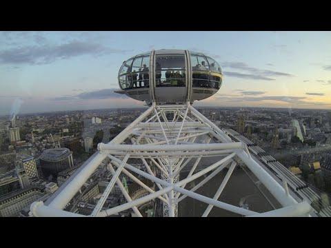 London Eye POV Time Lapse