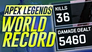 NEW APEX 36 SOLO-KILL WORLD RECORD (SOLO SQUAD)
