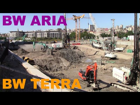 Belgrade Waterfront, BW ARIA / BW TERRA - Buildings under Construction from YouTube · Duration:  2 minutes 49 seconds