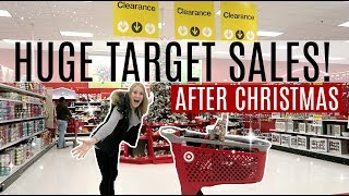 50% OFF TARGET SHOPPING VLOG! 🎯 After Christmas Clearance 2017