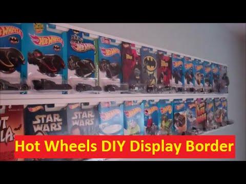 Hot Wheels Diy Room Border Display Youtube