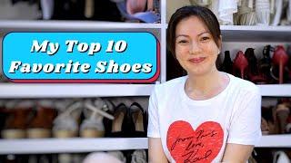My Top 10 Favorite Shoes | Carmina Villrroel Vlogs