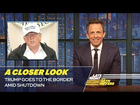Trump Goes to the Border Amid Shutdown: A Closer Look