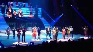 Tournée Danse avec les Stars 2014/2015 - Entrée des artistes