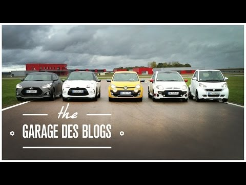 Twingo RS Smart Brabus Punto Evo DS3R Veloster Turbo Garage Des Blogs S01E01