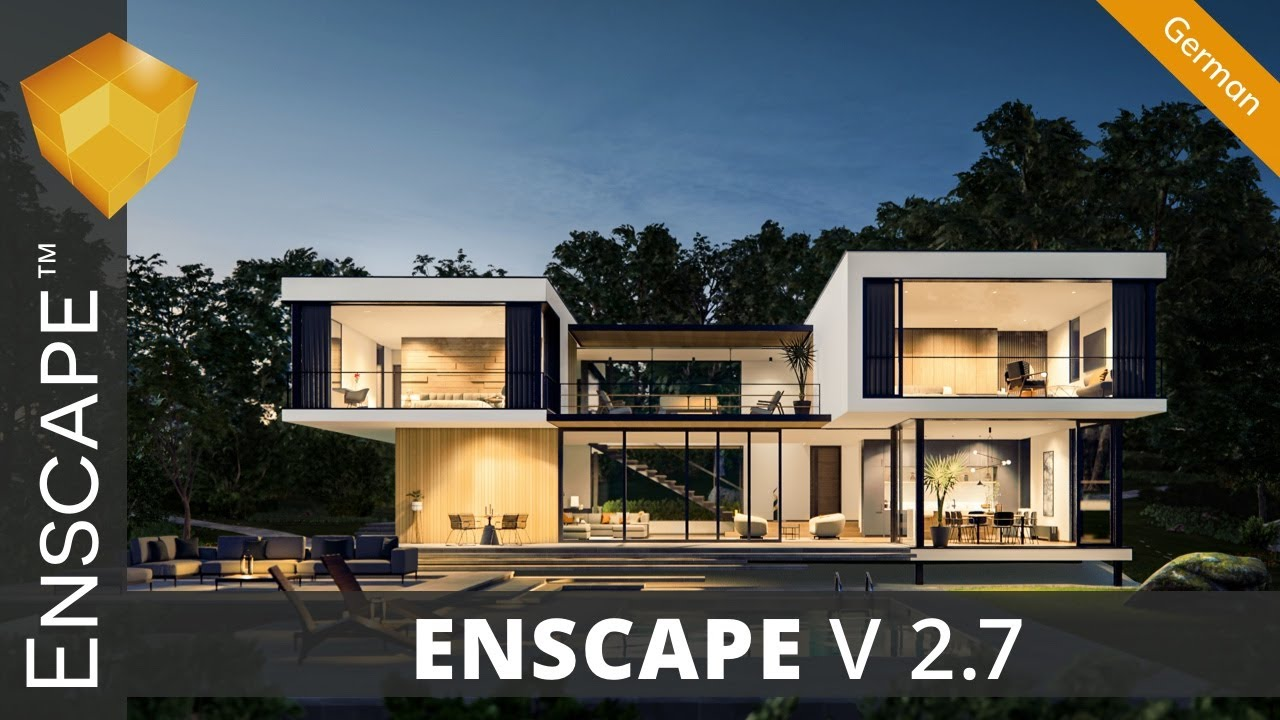 New Version: Enscape 2.7 - Maximize Your Design Process - YouTube