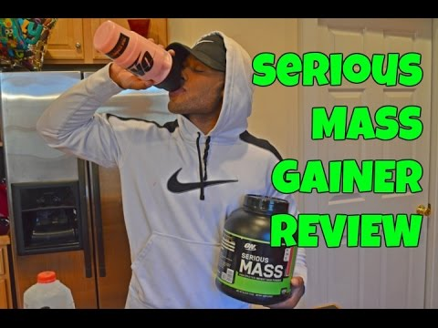 optimum-nutrition-serious-mass-gainer-review---carbs-for-gains!