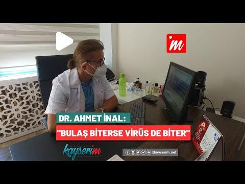 Dr. Ahmet İnal: Bulaş Biterse Virüs de Biter
