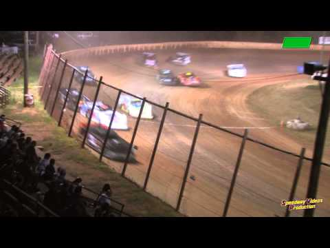Super Late Models Feature at Ponderosa Speedway July 24 , 2015
