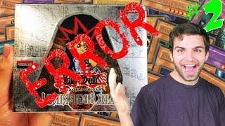 INCREDIBLE YuGiOh Factory ERROR Dark Beginning 1 CLASSIC Box Opening! 99 RARES!!!
