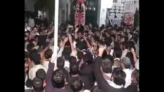 noha bismilla parh parh Mujahid Ali Nashad matamdari at D,G khan