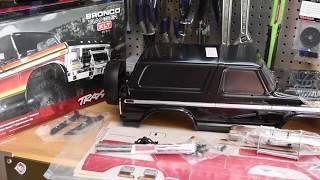 Traxxas 8010X Ford Bronco Body Kit Brand NEW