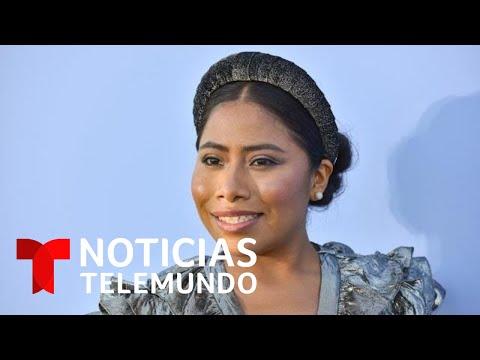La actriz mexicana Yalitza Aparicio reveló haber sido víctima de actos de discriminación | Telemundo from YouTube · Duration:  2 minutes 41 seconds
