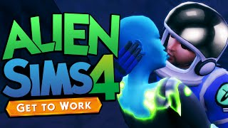 Sims 4 - MAKING BABIES WITH ALIENS - The Sims 4 Get To Work DLC