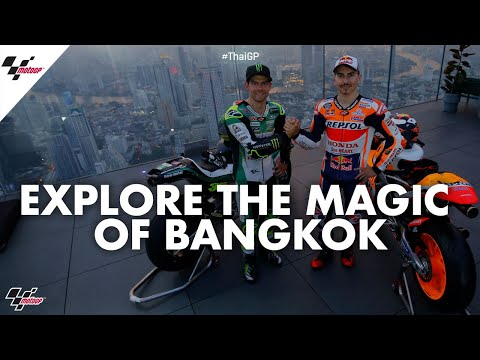 Crutchlow, Lorenzo, Chantra explore the magic of Bangkok | 2019 #ThaiGP