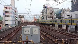 255系Be-05編成 特急しおさい号 東京行き 船橋駅到着